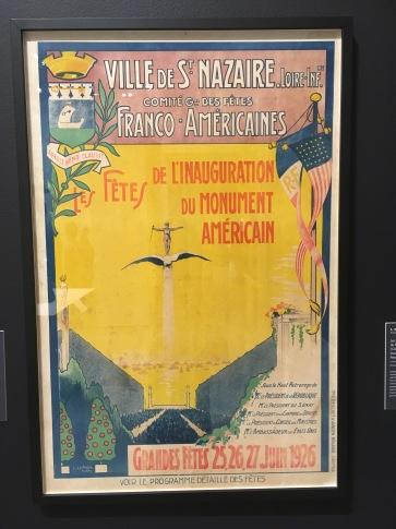 Gloria Vanderbilt - poster design (at the Norton)